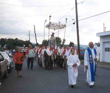 St.Mary procession